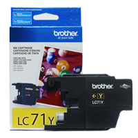 Brother LC71Y ( Brother LC-71Y ) InkJet Cartridge