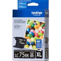 Brother LC75BK ( Brother LC-75BK ) InkJet Cartridge