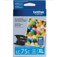 Brother LC75C ( Brother LC-75C ) InkJet Cartridge
