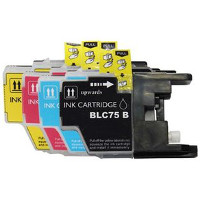 Brother LC75BK / LC75C / LC75M / LC75Y Compatible InkJet Cartridge Multi-Pack
