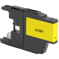 Brother LC75Y Replacement InkJet Cartridge