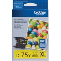 Brother LC75Y ( Brother LC-75Y ) InkJet Cartridge