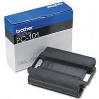 Brother PC-101 ( Brother PC101 ) Black Thermal Transfer Fax Print Cartridge