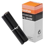 Brother PC-304RF ( PC304RF ) Black Thermal Transfer Ribbon Refills (4/pack)