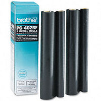 Brother PC-402RF ( PC402RF ) Black Thermal Transfer Ribbons Refills (2/pack)