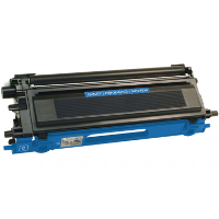 Service Shield Brother TN-110C Cyan Replacement Laser Toner Cartridge by Clover Technologies
