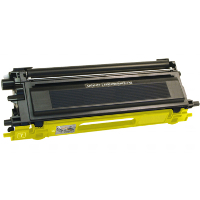 Service Shield Brother TN-110Y Yellow Replacement Laser Toner Cartridge by Clover Technologies
