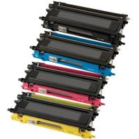Brother TN-115BK / TN-115C / TN-115M / TN-115Y Compatible Laser Toner Cartridge MultiPack