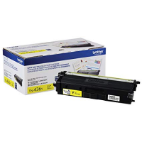 OEM Brother TN-436Y ( TN436Y ) Yellow Laser Toner Cartridge