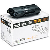 Brother TN-670 Black High Capacity Laser Toner Cartridge ( Brother TN670 )