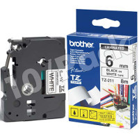 Brother TZ211 ( Brother TZ-211 ) P-Touch Tapes (10/Pack)