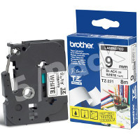Brother TZ221 ( Brother TZ-221 ) P-Touch Tapes (5/Pack)