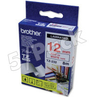Brother TZ232 ( Brother TZ-232 ) P-Touch Tapes (5/Pack)