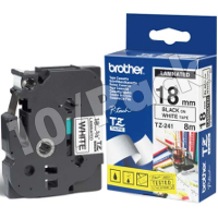 Brother TZ241 ( Brother TZ-241 ) P-Touch Tapes (10/Pack)