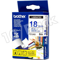 Brother TZ243 ( Brother TZ-243 ) P-Touch Tapes (10/Pack)