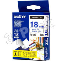 Brother TZ243 ( Brother TZ-243 ) P-Touch Tapes (3/Pack)