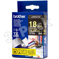 Brother TZ344 ( Brother TZ-344 ) P-Touch Tapes (3/Pack)