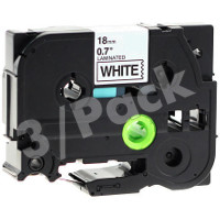 Brother TZe241 / TZe-241 Compatible P-Touch Label Tapes (3/Pack)