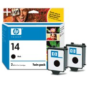 Hewlett Packard HP C9330FN ( HP 14d Twinpack ) InkJet Cartridge Twin Pack