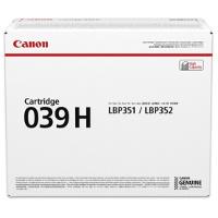 OEM Canon Canon 039H ( 0288C001 ) Black Laser Toner Cartridge