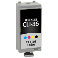 Canon 1511B002 / CLI-36 Replacement InkJet Cartridge