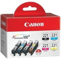 Canon 2946B004 ( Canon CLI-221 ) InkJet Cartridges MultiPack