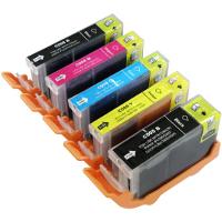 Canon 2945B001 / 2946B001 / 2947B001 / 2948B001 / 2949B001 (PGI-220 / CLI-221) Compatible InkJet Cartridges