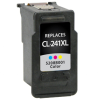 Remanufactured Canon CL-241XL ( 5208B001 ) Multicolor Inkjet Cartridge (Made in North America; TAA Compliant)