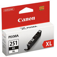 Canon 6448B001 ( Canon CLI-251XLBK ) InkJet Cartridge
