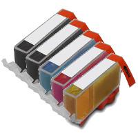 Canon 6432B001/ 6448B001 / 6449B001 / 6450B001 / 6451B001 (PGI-250XL / CLI-251XL) Compatible InkJet Cartridges