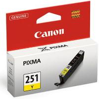 Canon 6516B001 ( Canon CLI-251Y ) InkJet Cartridge
