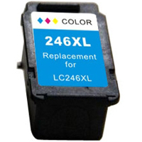 Remanufactured Canon CL-246XL ( 8280B001 ) Multicolor Inkjet Cartridge (Made in North America; TAA Compliant)