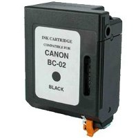 Canon BC-02 Black Professionally Remanufactured BubbleJet Printhead Inkjet Cartridges