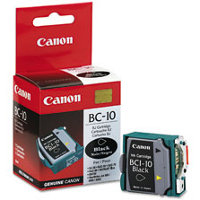 Canon BC-10 Black BubbleJet InkJet Cartridge