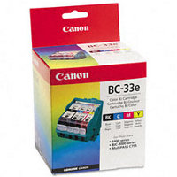 Canon BC-33e Color BubbleJet Inkjet Cartridge