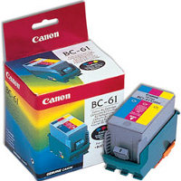 Canon BC-61 Color BubbleJet Printhead Inkjet Cartridge
