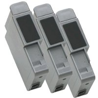 A pack of 3 Canon BCI-21 Compatible Black Inkjet Cartridges