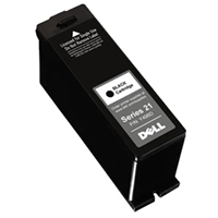 OEM Dell Y498D / GRMC3 / Series 21 ( 330-5275 ) Black Inkjet Cartridge