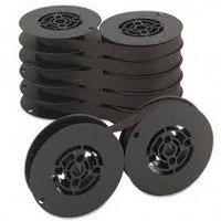DEC LA36R-12 Black Fabric Spool Printer Ribbon (12/Box)