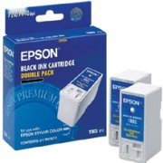 Epson T003012 Black Inkjet Cartridges ( 2-Pack T003011 )