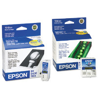 Epson T013201 Black & T014201 Color InkJet Cartridges