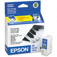 Epson S187093 Black InkJet Cartridge ( Replaces S020093 & S020187 )