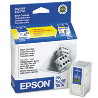 Epson S189108 Black InkJet Cartridge ( Replaces S020108 & S020189 )