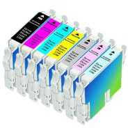 Epson T034120 / T034220 / T034320 / T034420 / T034520 / T034620 / T034720 / T034820 Remanufactured InkJet Cartridges