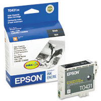 Epson T043120 Black High Capacity InkJet Cartridge