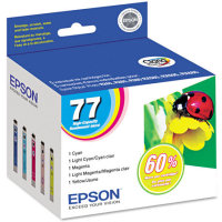 Epson T077920 InkJet Cartridge Multi-Pack