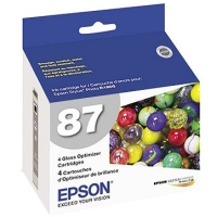Epson T087020 Gloss Optimizer InkJet Cartridge