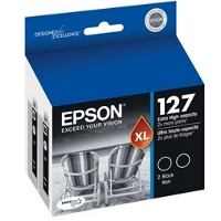 Epson T127120-D2 InkJet Cartridge Dual Pack