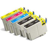 Epson T127120 / T127220 / T127320 / T127420 ( Epson T127 ) Remanufactured InkJet Cartridge Value Pack