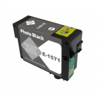 Remanufactured Epson T157120 Photo Black Inkjet Cartridge